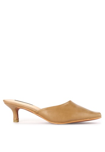 Mandy's white Millano Khaky Heels 45361SH738BF3CGS_1