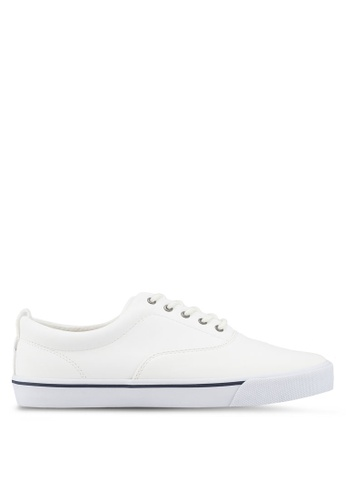 Call It Spring white Dunn Lace Ups Sneakers 3CED4SHF2D6DA6GS_1
