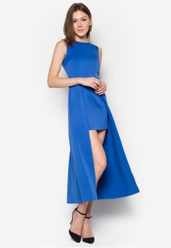 Daphne 無袖腰帶連身裙, 服飾esprit outlet hong kong, 派對洋裝
