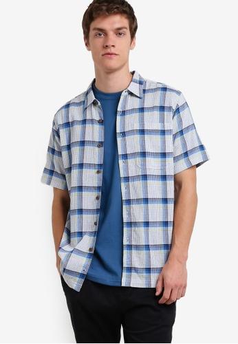 Patagonia blue Men's A/C Shirt PA549AA63XBSMY_1