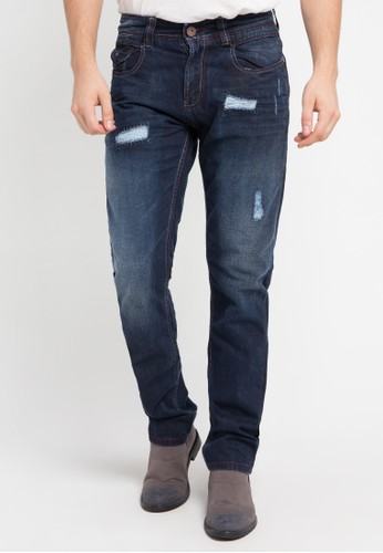 Lois Jeans blue Long Pant Denim LO391AA0VPC2ID_1