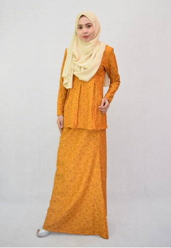 Denai Boutique yellow Baju Kurung Jannah 36170AA5838165GS_1