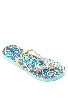 Fashion Skin Flip Flops