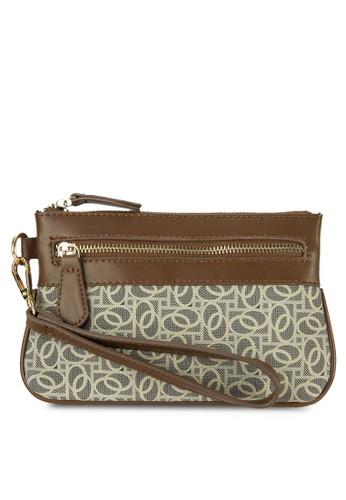 印花小esprit tote bag錢包, 包, 皮夾及零錢包