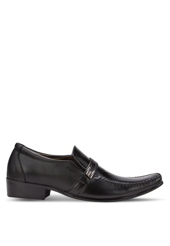 Spiffy black Business Shoes SP352SH70IORMY_1