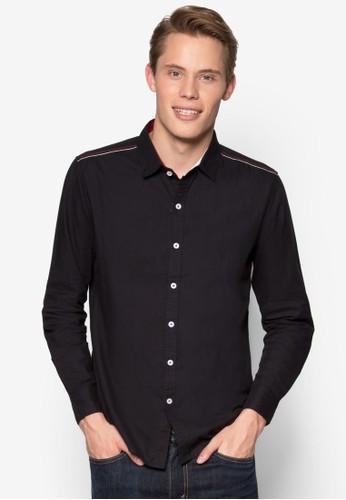 休閒esprit 台灣門市長袖襯衫, 服飾, 素色襯衫