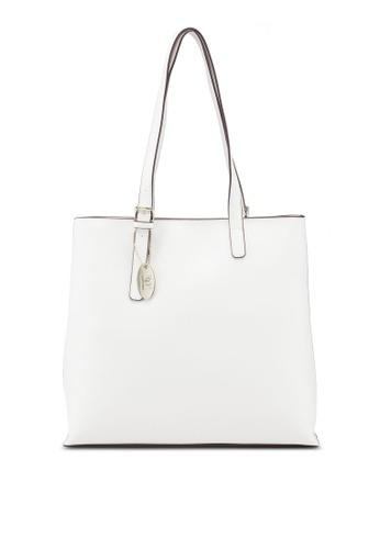 Shop Perllini Mel Faux Leather Double Handle Shoulder Bag Online on ZALORA  Philippines 34991e1f2a74e