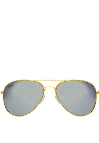 Eye Know Right silver The Bstrd in Silver Flash  Sunglasses EY595GL70ECFPH_1