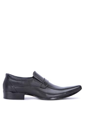 Brogue & Derby black Denham Formal Shoes BR611SH0IWEWPH_1