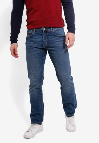 bc9aff10aef Buy ESPRIT Denim Length Service Jeans   ZALORA HK