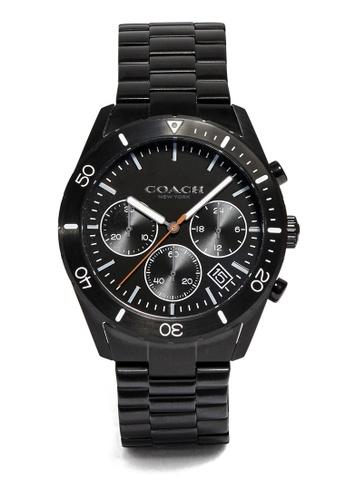 Coach black Thompson Sport Watch (cv) 0FB18AC28748FEGS_1