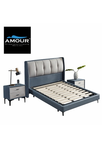 AMOUR Amour brand essential PU leather bed 82985HL9BB82CEGS_1