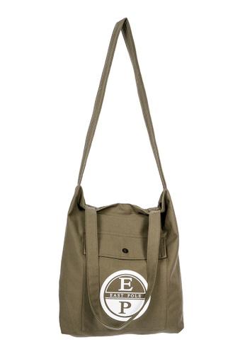 East Pole green Unisex Two-way Crossbody tote bag 72D13AC0B1F1FFGS_1