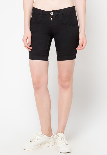 X8 black Charity Short Pants X8323AA31PXKID_1