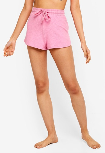 Cotton On Body pink Supersoft Lounge Shorts 76234AADD72F50GS_1