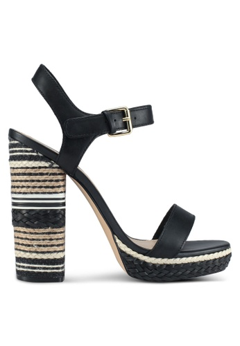 ALDO black Huglag Heeled Sandals 763BCSH40ABECCGS_1