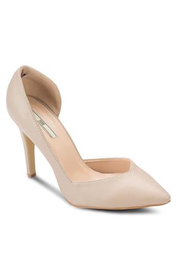 側鏤空尖頭高esprit outlet台北跟鞋, 女鞋, 厚底高跟鞋