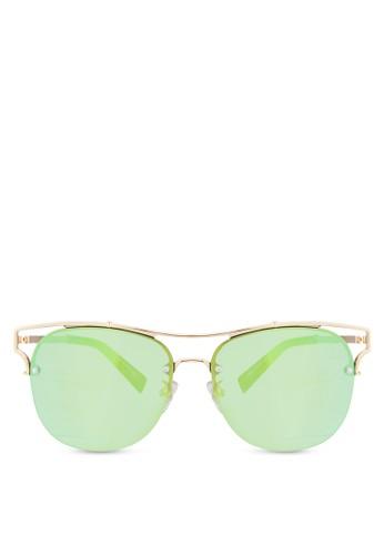 Micheal 細框太陽眼鏡, 飾zalora開箱品配件, 方框
