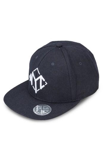 按扣文字平簷salon esprit 香港帽, 飾品配件, 飾品配件