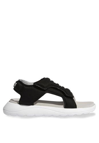 ADIDAS 黑色 comfort sandals C7616KS4A8E10BGS_1