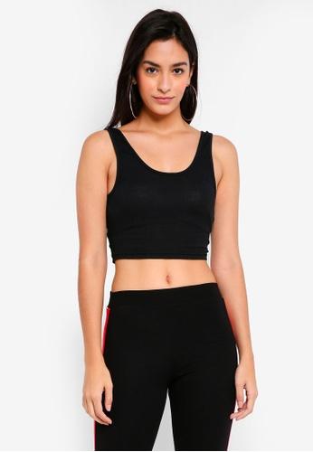 TOPSHOP black Leni Vest EE01AAAFF3DBF4GS_1