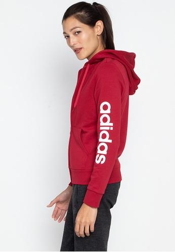 53809a2c96 adidas w essentials linear full zip hoodie