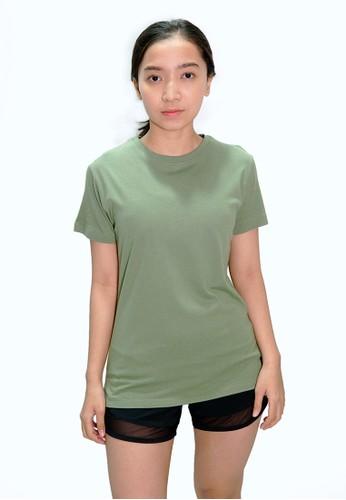 Trijee green Trijee Women Short Sleeve Tee Callum - Green 2ED58AA8DB4A37GS_1
