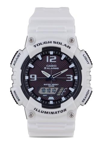 Cesprit手錶專櫃asio AQ-S810WC-7AVDF 雙顯多功能手錶, 錶類, 其它錶帶