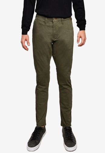 Indicode Jeans green Norfolk Casual Chinos 6D197AAA31D165GS_1