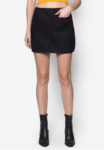 蕾絲A 字短裙, 服飾, 上zalora 評價衣