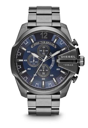 Diesel grey Diesel Mega Chief Gunmetal Stainless Steel Watch DZ4329 DI095AC10NCJMY_1