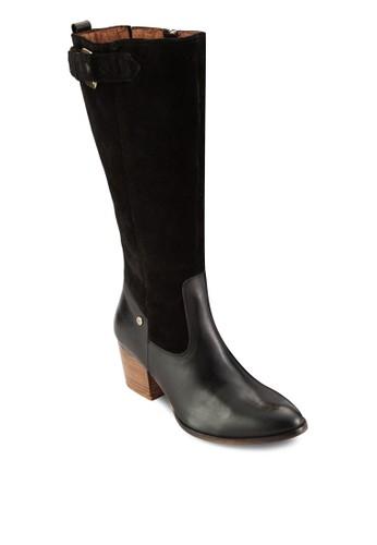 Alabaster 側拉鍊皮靴, 女鞋,esprit 台中 鞋
