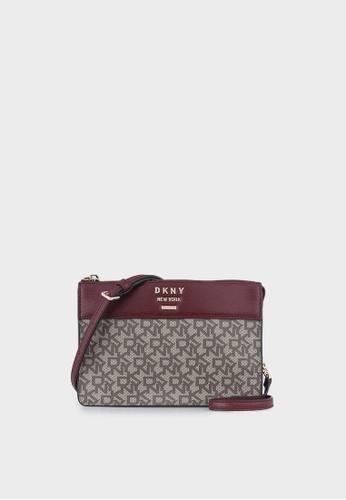 DKNY multi Ava-Top Zip Crossbody Bag 8EE2BAC2456D68GS_1