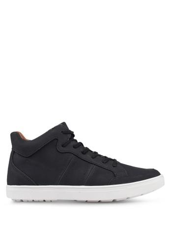ALDO black Mirethien High Top Sneakers 74C4DSHBBAC868GS_1