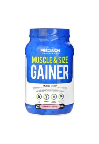 Holland & Barrett Precision Engineered Muscle & Size Gainer Powder Strawberry 1.9kg 0190BESFEC7C9EGS_1