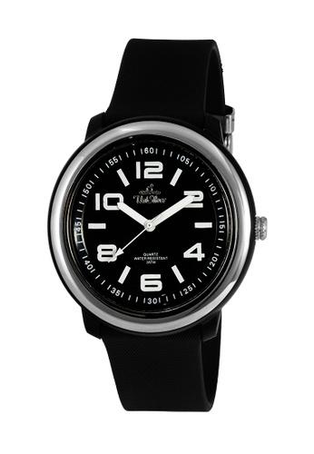 UniSilver TIME black Men's Cooledge Analog Rubber KW2007-2001 Watch UN802AC0KTDBPH_1