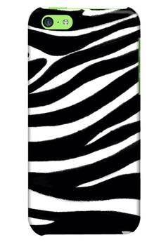 Zebra Print Glossy Hard Case for iPhone 5c