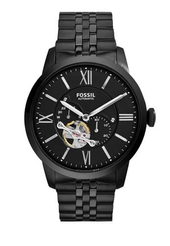 Fossil black Townsman Chronograph Watch FO359AC0K8VKPH_1