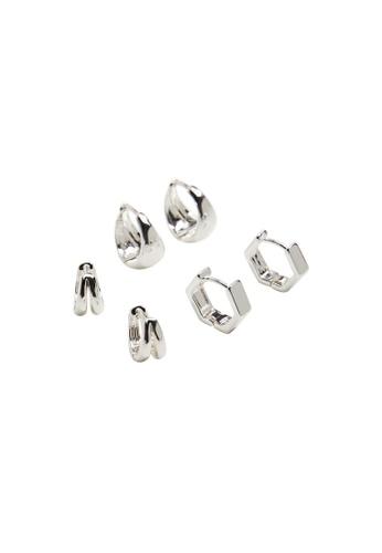 Mango silver Mixed Earring Set 0DD8BAC95DBED6GS_1