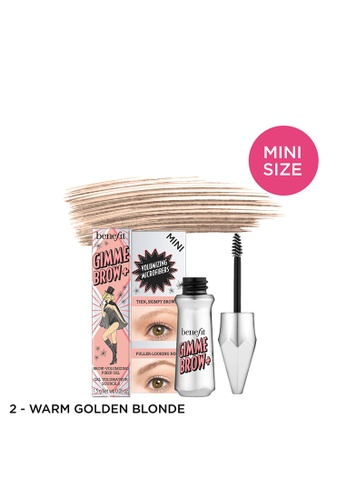 Benefit brown Gimme Brow + Shade 02 Mini BM GEL 3542FBEF813277GS_1
