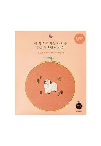 Klosh pink Embroidery Kit - Sheep EF5C4HL9B0508DGS_1