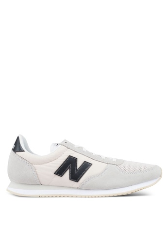 New Balance grey and white 220 Lifestyle Shoes 3D63FSHF04FB77GS_1