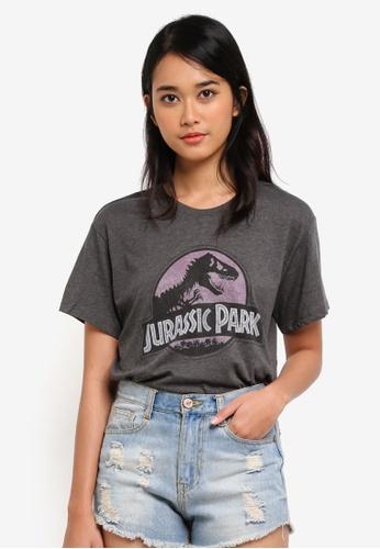 Cotton On grey TBar Fox Graphic T-Shirt 8610DAA1FC6DA0GS_1