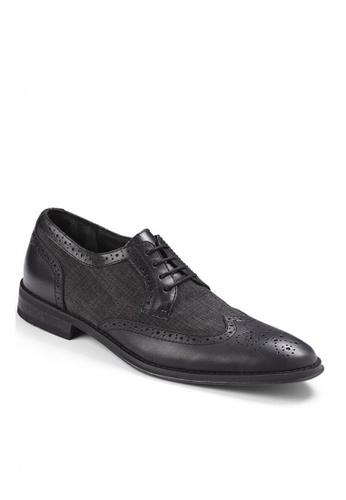 Vionic black Roth Wing Tip Dress Shoes 1F538SHEC1F0DBGS_1