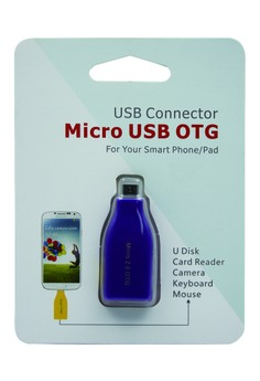 USB CONNECTOR Micro USB OTG For Smart Phone/Pad (VIOLET)