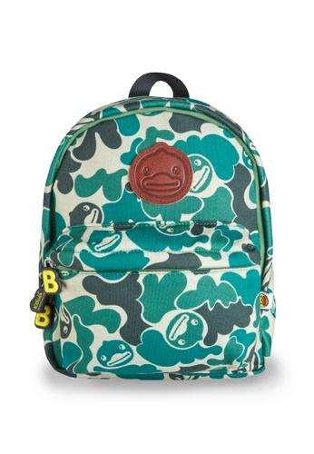 B.Duck green B.Duck Kids Backpack (28cm) 0D47BKC7CA5006GS_1