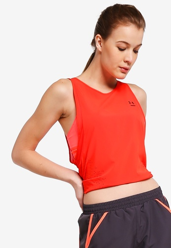 Under Armour red Perpet UAl Woven Tank Top 6D1DAAA79AF8E2GS_1
