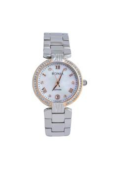 Bonia BP10376-2353S - Jam Tangan Wanita - Silver