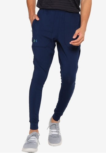 Under Armour blue UA Rush Fitted Pant C57C6AA1DD3651GS_1