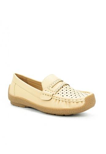 Mario D' boro Runway beige CS 24098 Beige Flat Loafers 689CCKS2A82DFDGS_1